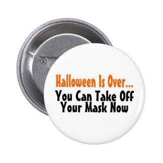 Halloween está sobre usted puede ahora sacar su má pin