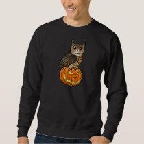 Halloween Eurasian Eagle Owl Sweatshirt