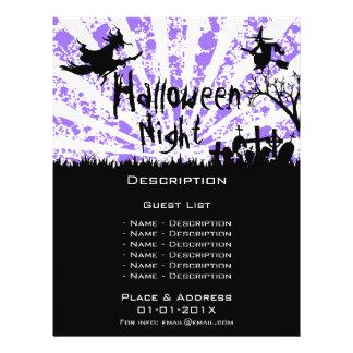Halloween Event Promotion Flyer