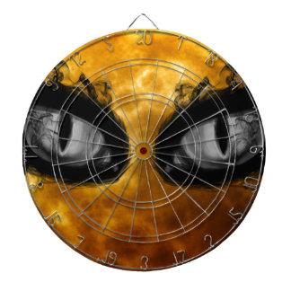 Halloween evil eyes dartboard