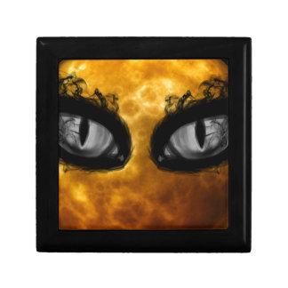 Halloween evil eyes jewelry box