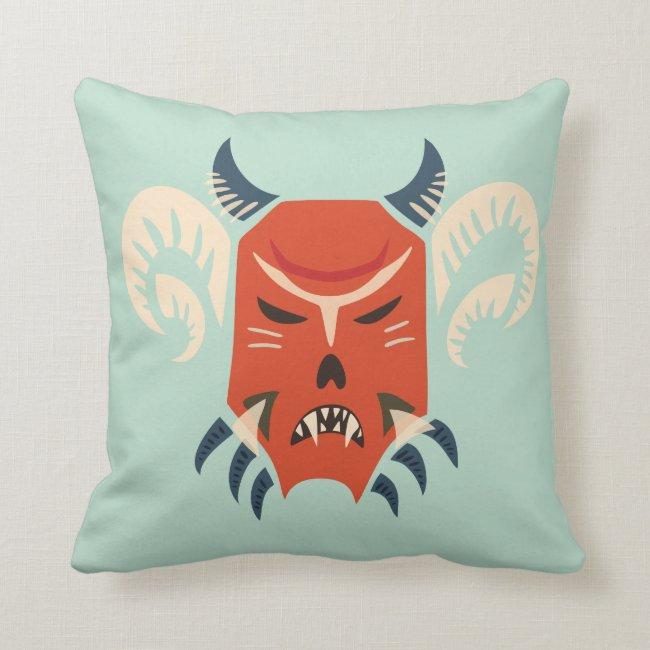 Halloween Evil Horned Demon Mask
