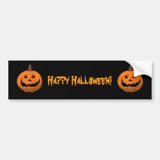 Halloween: Evil Jack-O-Lantern: Bumper Sticker