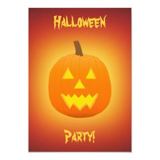 Halloween: Evil Jack-O-Lantern: Invitation Card