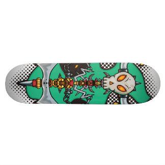Halloween Evil Monster Axe Skateboard Deck
