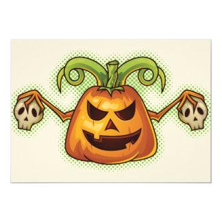 Halloween Evil Scary Pumpkin #2 Card