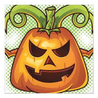 Halloween Evil Scary Pumpkin #2 Magnetic Card