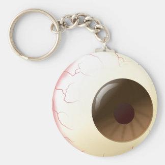 Halloween_Eye Basic Round Button Keychain