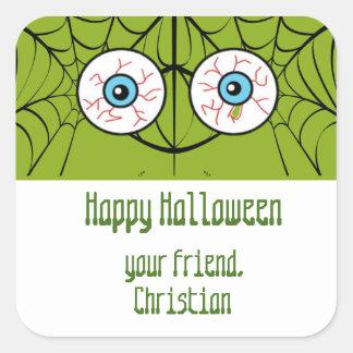 Halloween Eyeball goodie bag stickers