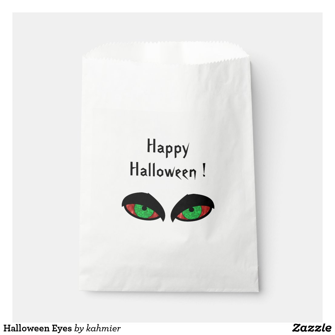Halloween Eyes Favor Bag