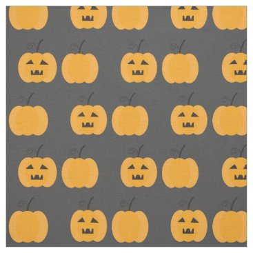 Halloween Themed Halloween fabric with pumpkin