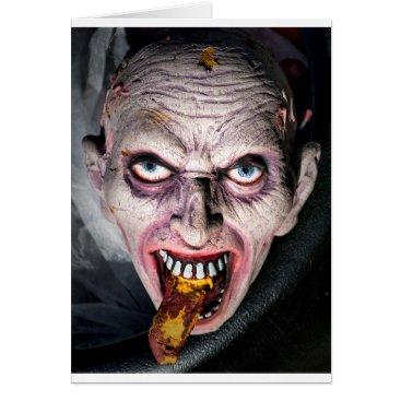Halloween Face in a Cauldron Card