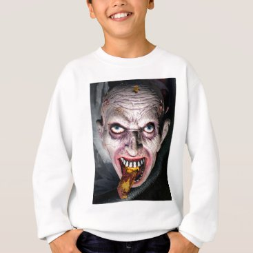 Halloween Themed Halloween Face in a Cauldron Sweatshirt