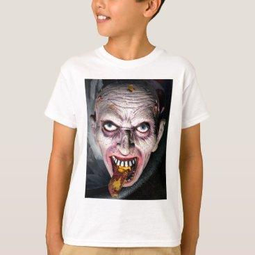 Halloween Themed Halloween Face in a Cauldron T-Shirt