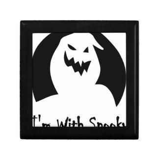 halloween-face spooky jewelry box