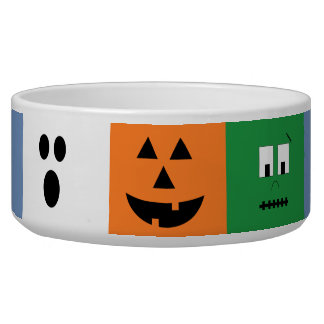 Halloween Faces Candy Bowl