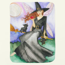 Halloween Fairy Baby Blanket
