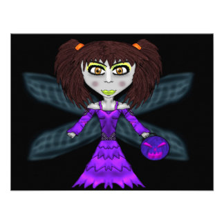Halloween Fairy Card Personalized Invitations