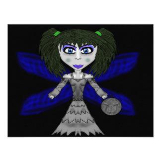 Halloween Fairy Card Custom Announcements