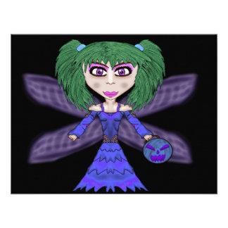 Halloween Fairy Card Custom Invites