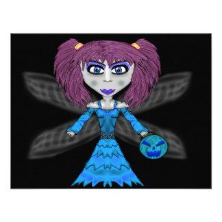 Halloween Fairy Card Custom Announcement