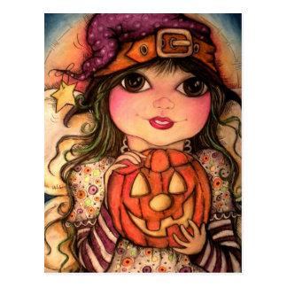 Halloween Fairy Fun Post Cards