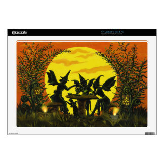 Halloween fairy tea party lap top skin skin for laptop