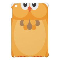 Halloween Fall Color Owl Illustration iPad Mini Cover