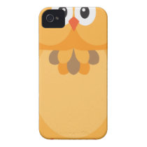 Halloween Fall Color Owl Illustration iPhone 4 Cover