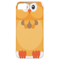 Halloween Fall Color Owl Illustration iPhone SE/5/5s Case