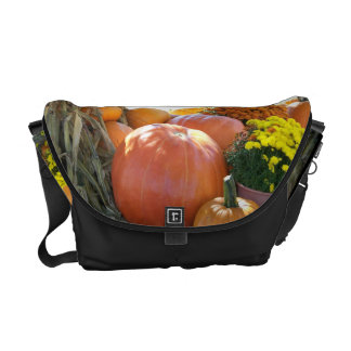 Halloween Fall Scene Courier Bag