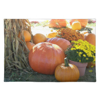 Halloween Fall Scene Placemat