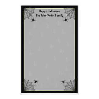 Halloween Family Stationery