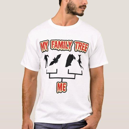 Halloween Family Tree T-Shirt