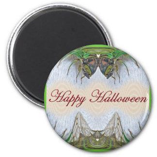 Halloween Fantasmagorical Cicada Items 2 Inch Round Magnet