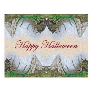 Halloween Fantasmagorical Cicada Items Postcard
