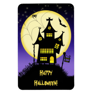 Halloween fantasmagórico 1 imán superior de Flexi
