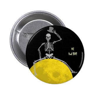 ¡Halloween fantasmagórico espeluznante feliz de la Pins