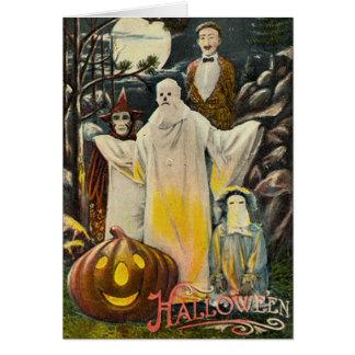 Halloween fantasmagórico felicitación