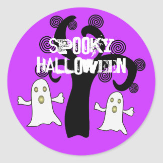 Halloween fantasmagórico - pegatina