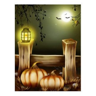 Halloween fantasmagórico tarjeta postal