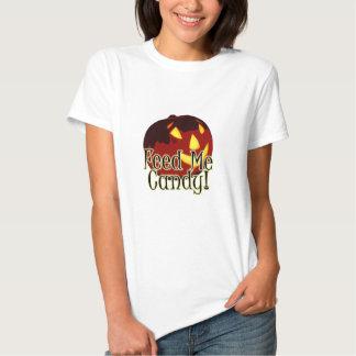 Halloween Feed Me Candy Jack O Lantern T-Shirt