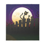 Halloween Fence Notepads