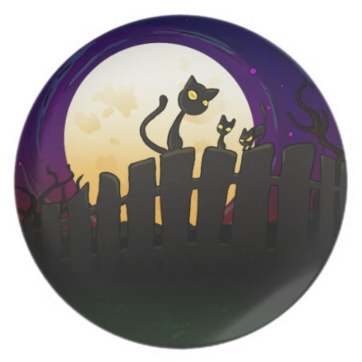 Halloween Fence Plate