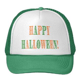 Halloween Festival Text Trucker Hat