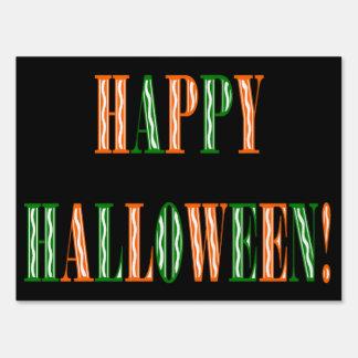 Halloween Festival Text Sign