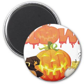 Halloween Festive Design Magnet