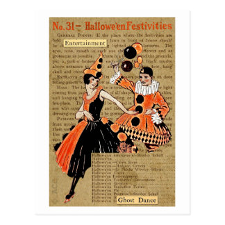 Halloween Festivities Postcard