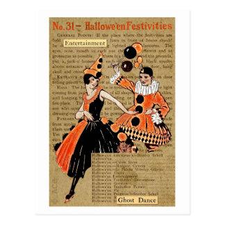 Hallowe'en Festivities Postcard