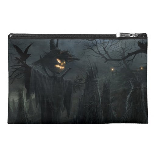 Halloween Field of Death Travel Accessory Bag